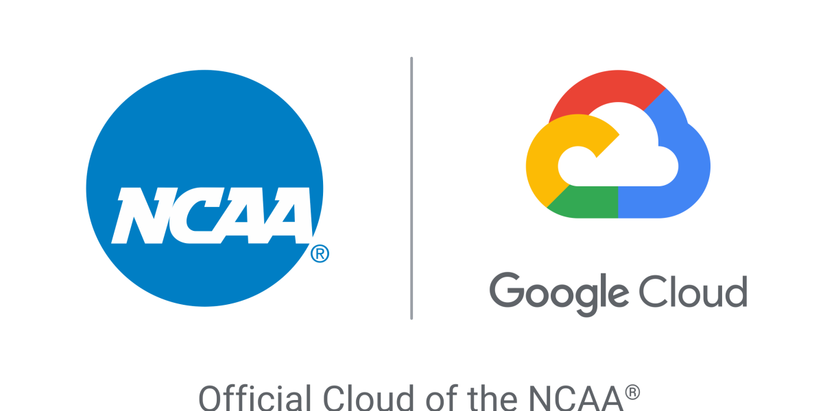 NCAA and Google Cloud logos