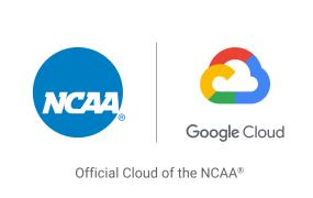 NCAA and Google Cloud logos