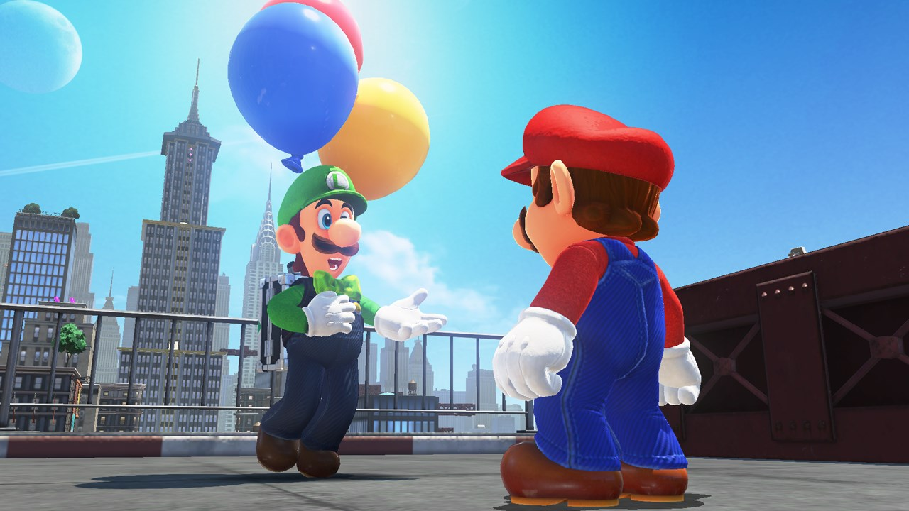 People are using glitches in Super Mario Odyssey's Balloon World