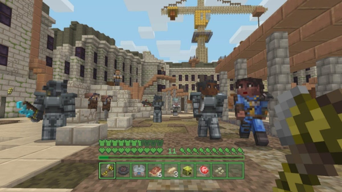 January 2018 S Top 10 Minecraft Marketplace Creations Castles And The Wild West Venturebeat