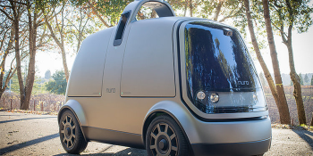 Nuro autonomous delivery car