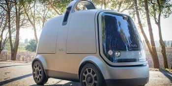 Nuro autonomous delivery car