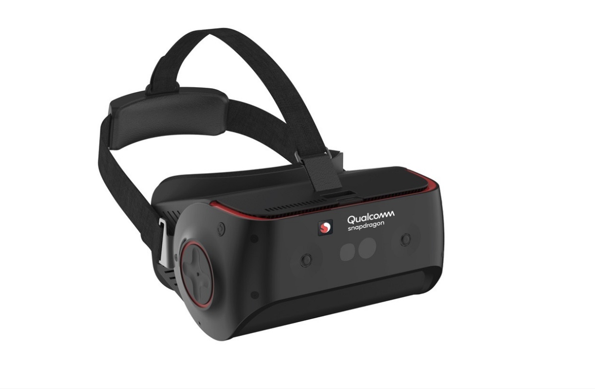 Qualcomm unveils Snapdragon 845-powered reference VR headset with room-scale tracking