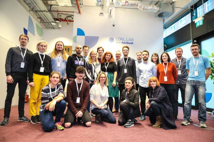 7 startups joined the original 12-week mentoring program at Facebook LDN_LAB in 2018