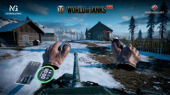 Neurogaming's World of Tanks VR attraction reminds us that arcades are social experiences