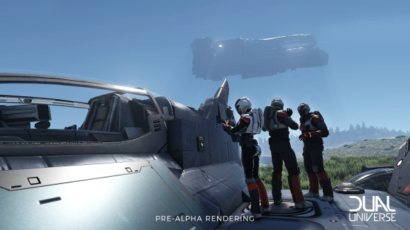 Dual Universe opens its massive online world for pre-alpha testing