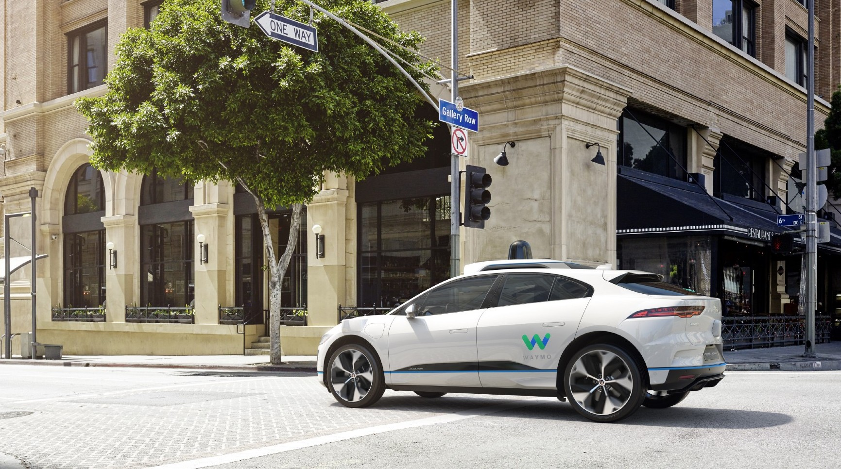 Jaguar and Waymo team up for self-driving I-Pace EVs
