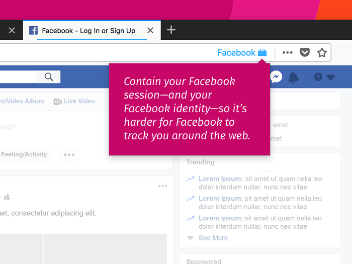 Mozilla Releases New Tool To Block Tracking By Facebook