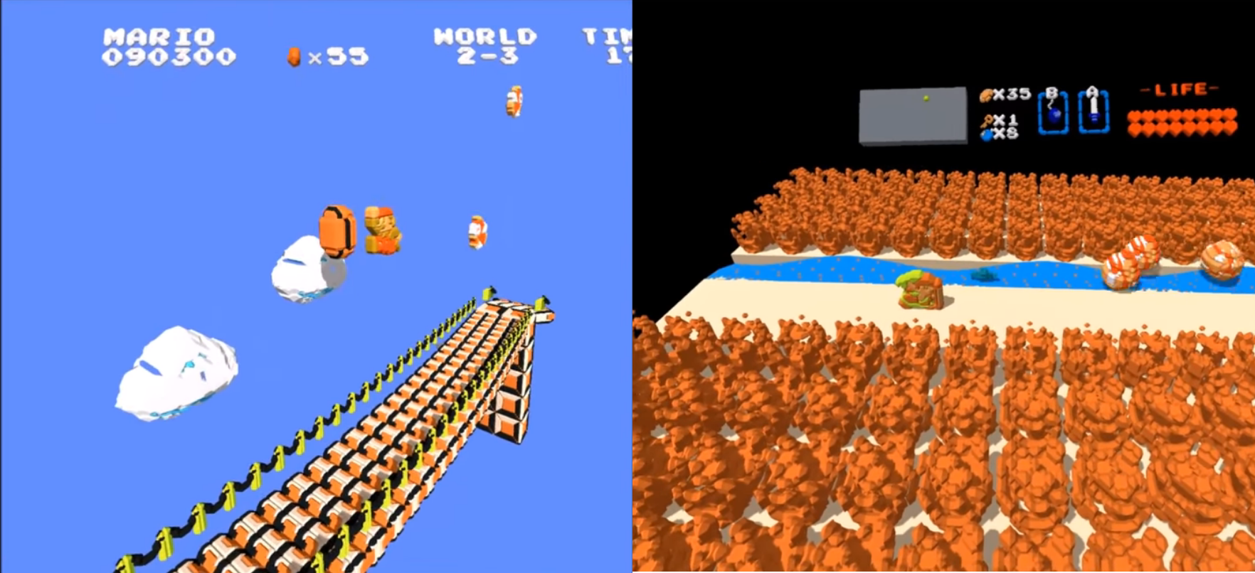 NES emulator enables you to dive into your games with virtual reality |  VentureBeat
