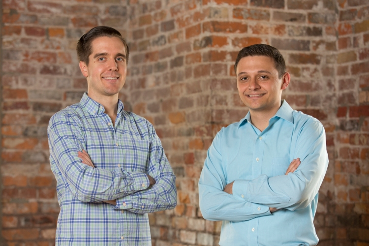 Root Insurance cofounders Dan Manges (left) and Alex Timm (right)