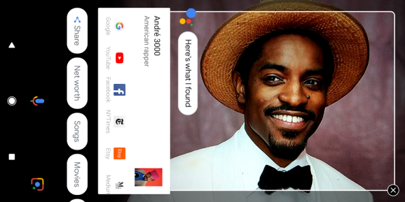 Google Lens in Pixel's Assistant can now recognize famous people