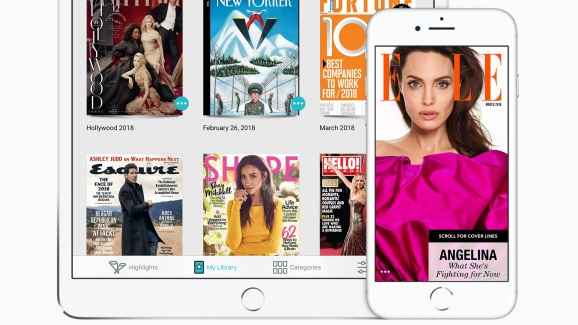 Apple acquired Texture as the predecessor to its Apple News magazines service.