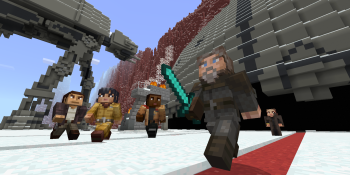 Minecraft's Star Wars Sequel skin pack adds Rey, Finn, and Kylo Ren