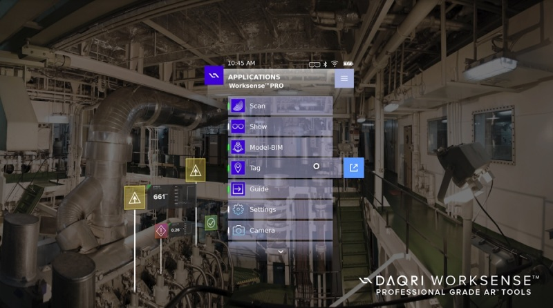 Daqri Worksense Lets Workers Tag And Scan Their