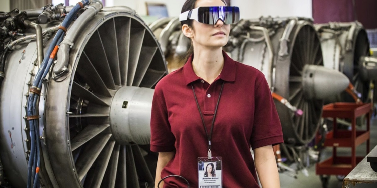 Daqri has work apps for augmented reality glasses.