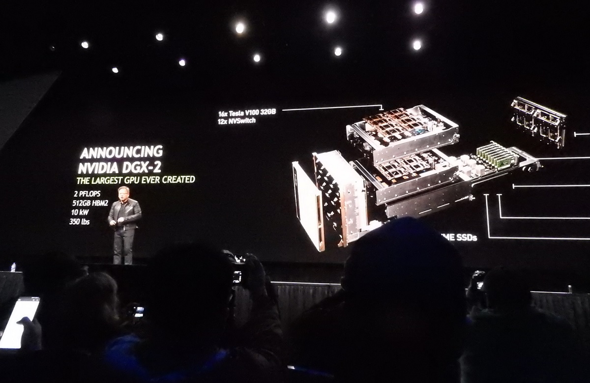 Nvidia claims its deep learning platform is 10 times faster
