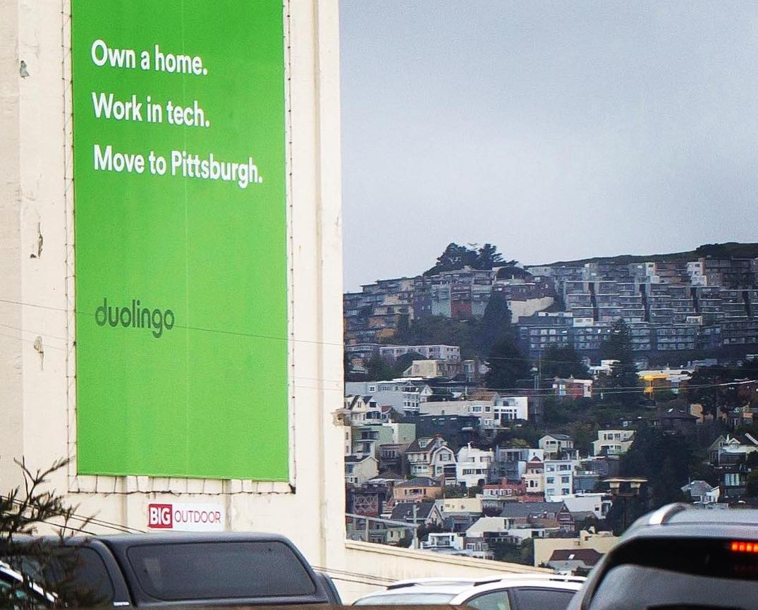 Duolingo to Silicon Valley workers: Move to Pittsburgh