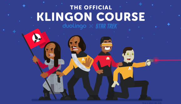 Duolingo targets Trekkies with new Klingon language course