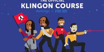Duolingo targets Trekkies with new Klingon language course