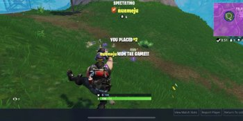 Fortnite rides a rocket to No. 2 highest-grossing iOS game