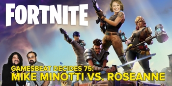 GamesBeat Decides 75: Mike Minotti vs. Roseanne Barr
