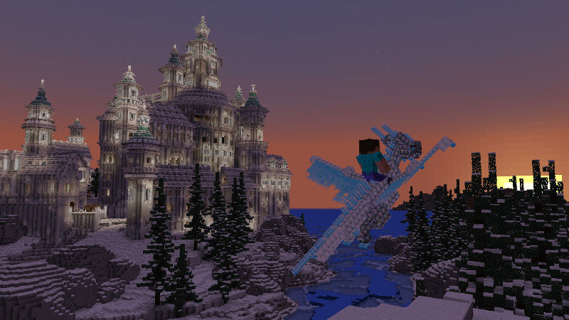 """""""The Great Kingdom of Frostfall has been claimed by a dragon! Take back the majestic castle, use it as your beautiful new home and conquer the rest of the world on the backs of dragons."""""""