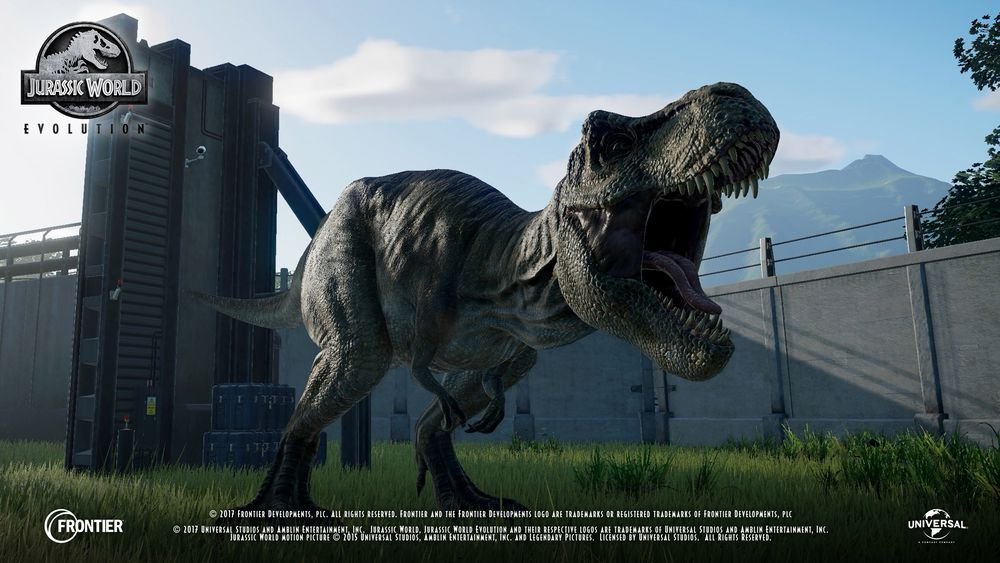 photo image Jurassic World: Evolution adds Jeff Goldblum to its dino-park sim