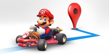 Google Maps marks Mario Day by adding a Super Mario Kart to your navigation