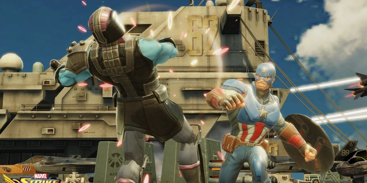 Captain America and Marvel: Strike Force are putting the punch into squad-based RPG spending.