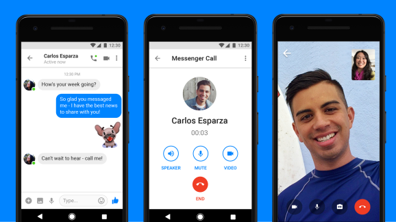 Facebook adds video chat to Messenger Lite Android app
