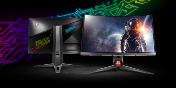 MSI and SteelSeries launch Optix MPG curved gaming monitors