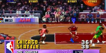 Making NBA Jam — winning over the NBA, scouring magazines, and a secret tank game