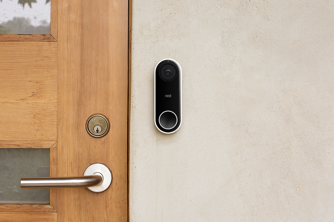 Nest Hello Video Doorbell Ships