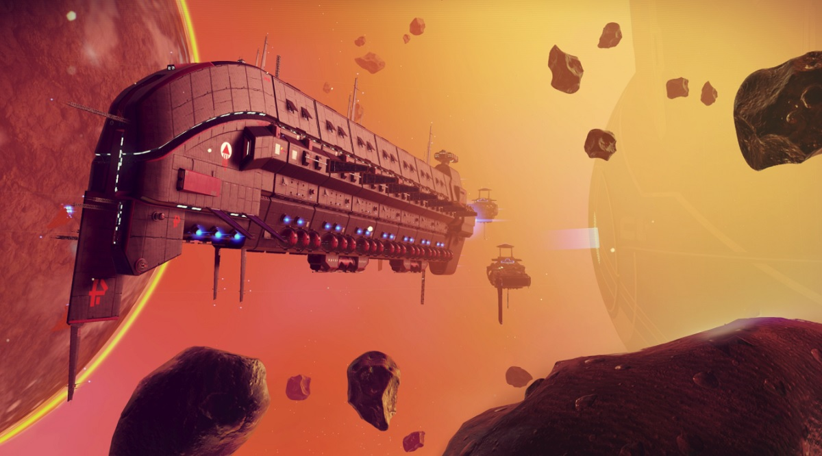photo image No Man's Sky's free Beyond update makes it more of a multiplayer game