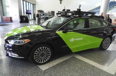 How Nvidia is using its autonomous car platform to drive
