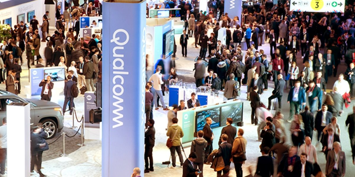Qualcomm at Mobile World Congress 2018.
