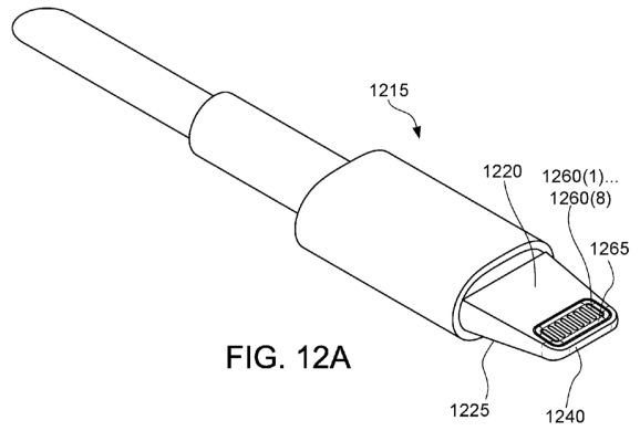 Apple patent application details waterproof Lightning connector