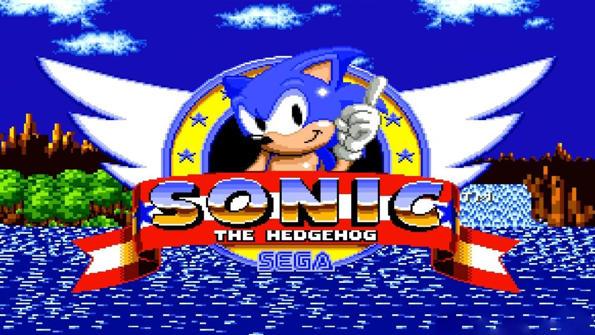 Sonic The Hedgehog S Logo Has A Secret Weird Backstory Venturebeat