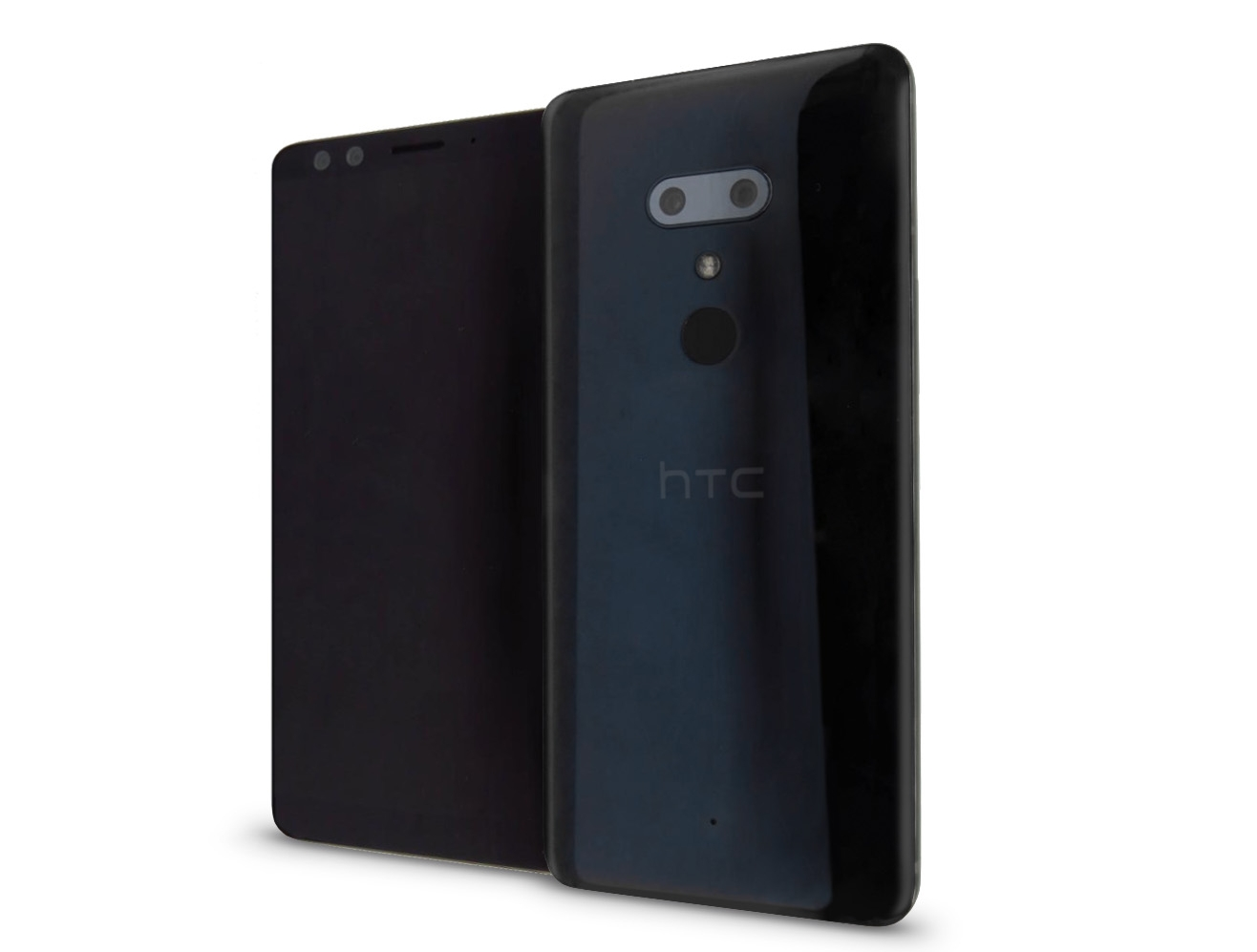 HTC U12 Plus Leak- Thin Bezels And Horizontal Dual Camera Setup