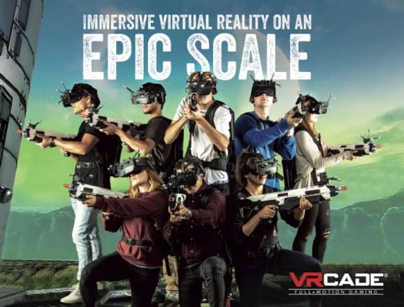 VRcade PowerPlay enables location-based virtual reality esports