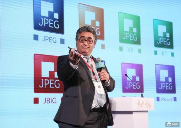 Touradj Ebrahimi, head of JPEG group