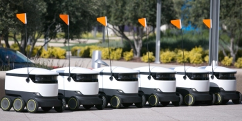 Starship Technologies launches autonomous robot delivery services for campuses