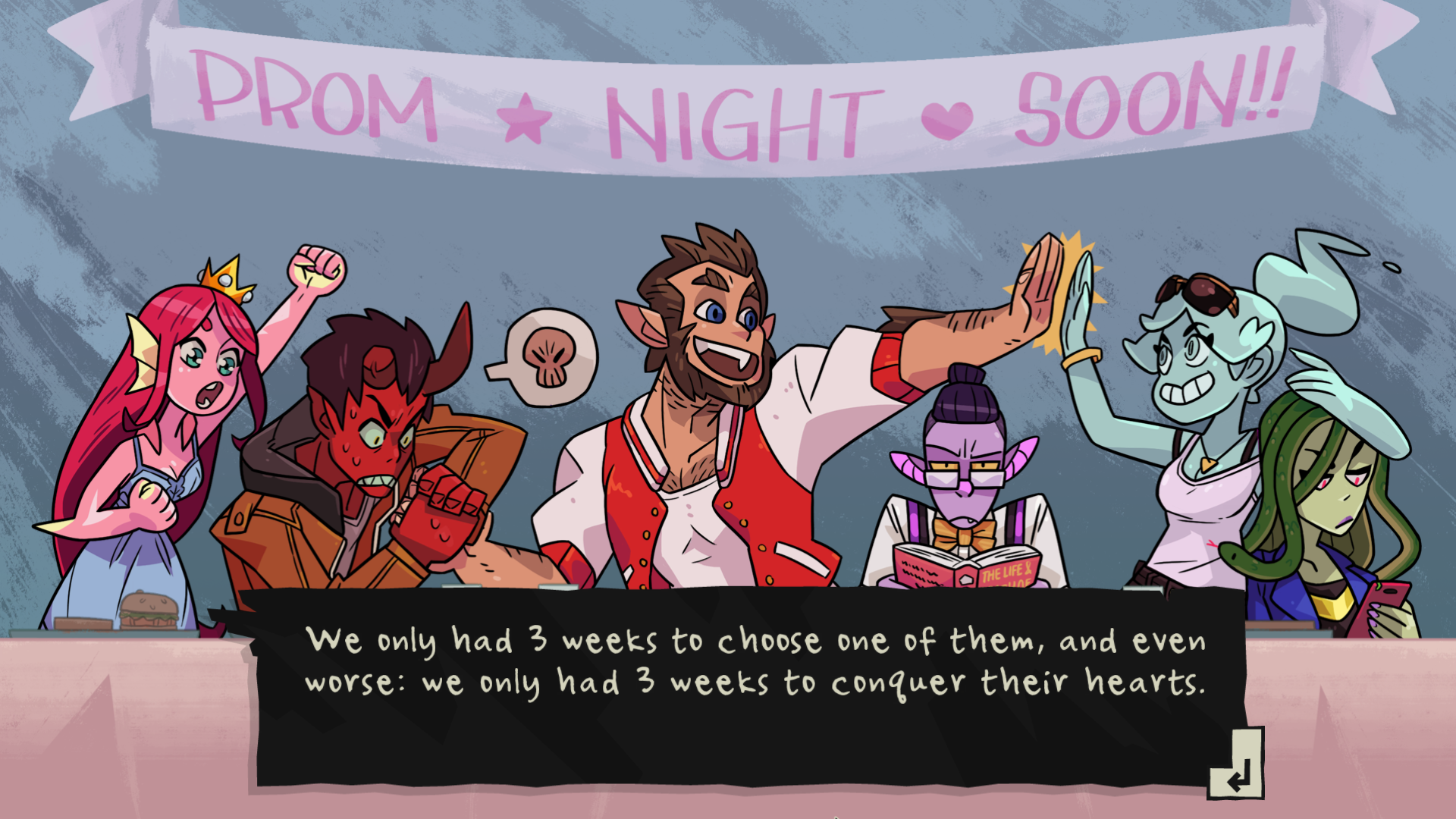 Monster dating game