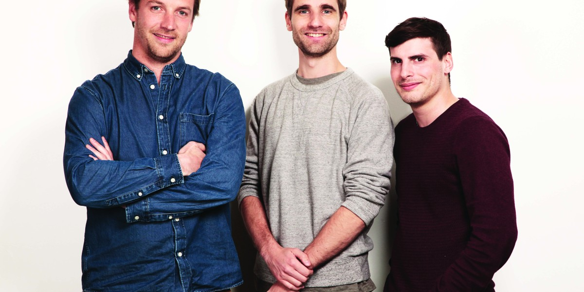 Back Market cofounders (left to right): Thibaud, Vianney, Quentin