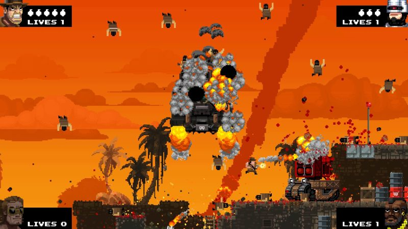 Free Lives' Broforce is a cheeky run-and-gun.