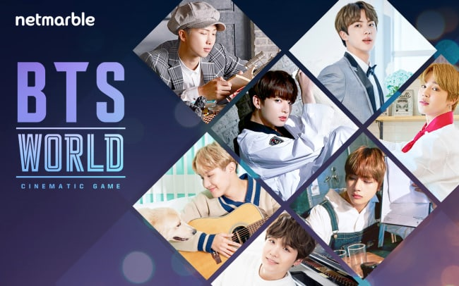 BTS World game brings K-pop group to Android and iOS on June 25