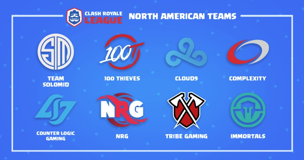Teams to Join the 'Clash Royale' eSports League