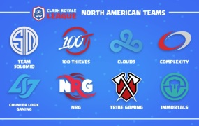 North American teams for the Clash Royale League.