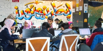 Geeking out in Gaza: Creating a Palestinian coding hub