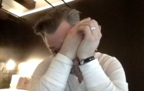 Dad tears, nature's most potent medicine.